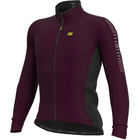 Alé Cycling Solid Fondo LS Jersey Men amarone red